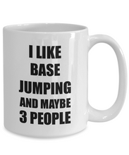 Load image into Gallery viewer, Base Jumping Mug Lover I Like Funny Gift Idea For Hobby Addict Novelty Pun Coffee Tea Cup-Coffee Mug