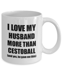 Cestoball Wife Mug Funny Valentine Gift Idea For My Spouse Lover From Husband Coffee Tea Cup-Coffee Mug