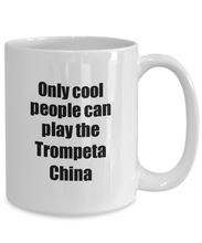 Load image into Gallery viewer, Trompeta China Player Mug Musician Funny Gift Idea Gag Coffee Tea Cup-Coffee Mug