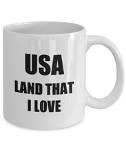 Load image into Gallery viewer, Land That I Love Mug Usa Funny Gift Idea Novelty Gag Coffee Tea Cup-Coffee Mug