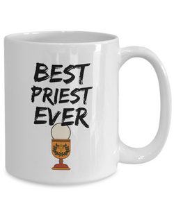 Priest Mug Church Best Ever Funny Gift for Coworkers Novelty Gag Coffee Tea Cup-Coffee Mug