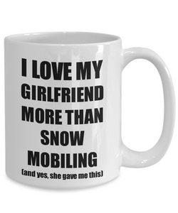 Snow Mobiling Boyfriend Mug Funny Valentine Gift Idea For My Bf Lover From Girlfriend Coffee Tea Cup-Coffee Mug