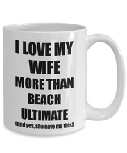 Load image into Gallery viewer, Beach Ultimate Husband Mug Funny Valentine Gift Idea For My Hubby Lover From Wife Coffee Tea Cup-Coffee Mug