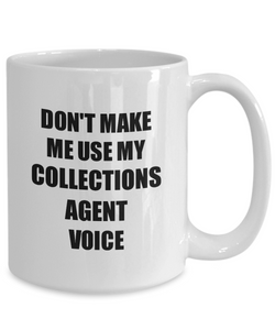 Collections Agent Mug Coworker Gift Idea Funny Gag For Job Coffee Tea Cup-Coffee Mug