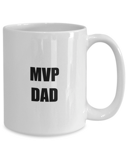 Mvp Dad Coffee Mug Funny Gift Idea for Novelty Gag Coffee Tea Cup-[style]