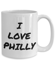 Load image into Gallery viewer, I Love Philly Mug Funny Gift Idea Novelty Gag Coffee Tea Cup-Coffee Mug