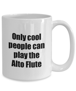Alto Flute Player Mug Musician Funny Gift Idea Gag Coffee Tea Cup-Coffee Mug
