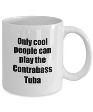Load image into Gallery viewer, Contrabass Tuba Player Mug Musician Funny Gift Idea Gag Coffee Tea Cup-Coffee Mug