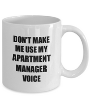 Load image into Gallery viewer, Apartment Manager Mug Coworker Gift Idea Funny Gag For Job Coffee Tea Cup-Coffee Mug