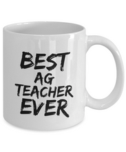 Load image into Gallery viewer, Ag Teacher Mug Best Ever Funny Gift Idea for Novelty Gag Coffee Tea Cup-[style]