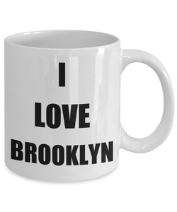 I Love Brooklyn Mug Funny Gift Idea Novelty Gag Coffee Tea Cup-Coffee Mug