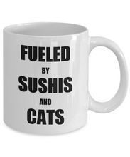 Load image into Gallery viewer, Cat Sushi Mug Funny Gift Idea for Novelty Gag Coffee Tea Cup-Coffee Mug
