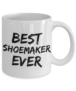 Shoemaker Mug Best Shoe Maker Ever Funny Gift for Coworkers Novelty Gag Coffee Tea Cup-Coffee Mug
