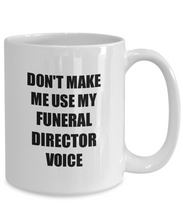Load image into Gallery viewer, Funeral Director Mug Coworker Gift Idea Funny Gag For Job Coffee Tea Cup-Coffee Mug