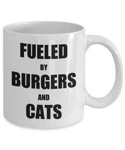 Cat Hamburger Mug Burger Funny Gift Idea for Novelty Gag Coffee Tea Cup-Coffee Mug