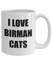 Load image into Gallery viewer, Birman Cat Mug Funny Gift Idea for Novelty Gag Coffee Tea Cup-Coffee Mug