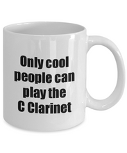 Load image into Gallery viewer, C Clarinet Player Mug Musician Funny Gift Idea Gag Coffee Tea Cup-Coffee Mug