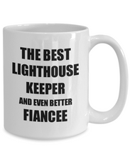 Load image into Gallery viewer, Lighthouse Keeper Fiancee Mug Funny Gift Idea for Her Betrothed Gag Inspiring Joke The Best And Even Better Coffee Tea Cup-Coffee Mug
