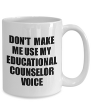 Load image into Gallery viewer, Educational Counselor Mug Coworker Gift Idea Funny Gag For Job Coffee Tea Cup Voice-Coffee Mug