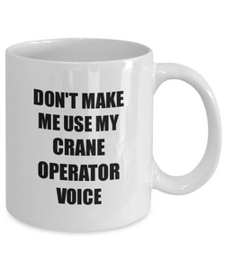 Crane Operator Mug Coworker Gift Idea Funny Gag For Job Coffee Tea Cup-Coffee Mug