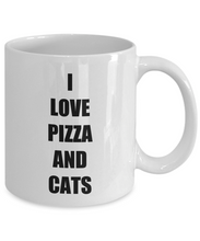 Load image into Gallery viewer, Pizza Cat Mug Funny Gift Idea for Novelty Gag Coffee Tea Cup-[style]