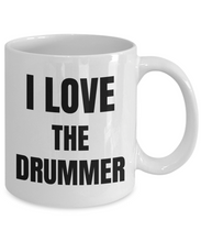 Load image into Gallery viewer, I Love The Drummer Mug Funny Gift Idea Novelty Gag Coffee Tea Cup-Coffee Mug