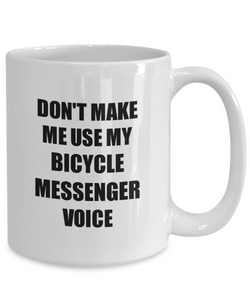 Bicycle Messenger Mug Coworker Gift Idea Funny Gag For Job Coffee Tea Cup-Coffee Mug