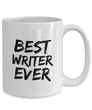 Load image into Gallery viewer, Writer Mug Best Ever Funny Gift for Coworkers Novelty Gag Coffee Tea Cup-Coffee Mug