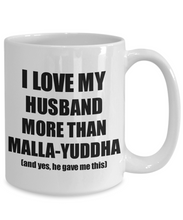 Load image into Gallery viewer, Malla-Yuddha Wife Mug Funny Valentine Gift Idea For My Spouse Lover From Husband Coffee Tea Cup-Coffee Mug