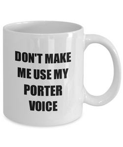 Porter Mug Coworker Gift Idea Funny Gag For Job Coffee Tea Cup-Coffee Mug