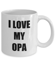 Load image into Gallery viewer, I Love Opa Mug Funny Gift Idea Novelty Gag Coffee Tea Cup-Coffee Mug