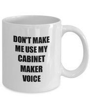 Load image into Gallery viewer, Cabinet Maker Mug Coworker Gift Idea Funny Gag For Job Coffee Tea Cup-Coffee Mug