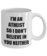 Load image into Gallery viewer, Funny Atheism Mug Funny Gift Idea for Novelty Gag Coffee Tea Cup-[style]