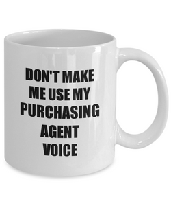 Purchasing Agent Mug Coworker Gift Idea Funny Gag For Job Coffee Tea Cup-Coffee Mug