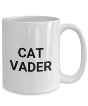 Load image into Gallery viewer, Cat Vader Mug Funny Gift Idea for Novelty Gag Coffee Tea Cup-[style]