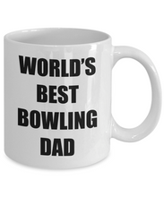 Load image into Gallery viewer, Bowling Dad Mug Best Funny Gift Idea for Novelty Gag Coffee Tea Cup-Coffee Mug