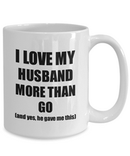 Load image into Gallery viewer, Go Wife Mug Funny Valentine Gift Idea For My Spouse Lover From Husband Coffee Tea Cup-Coffee Mug