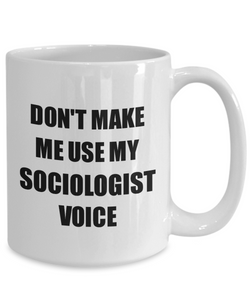 Sociologist Mug Coworker Gift Idea Funny Gag For Job Coffee Tea Cup-Coffee Mug