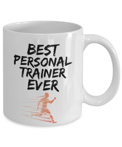 Personal Trainer Mug - Best Personal Trainer Ever - Funny Gift for Gym Coach-Coffee Mug