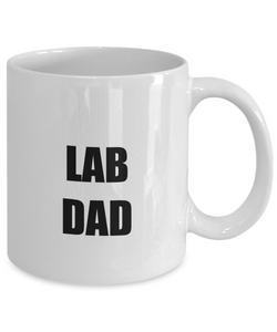 Lab Dad Mug Funny Gift Idea for Novelty Gag Coffee Tea Cup-Coffee Mug