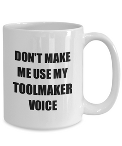 Toolmaker Mug Coworker Gift Idea Funny Gag For Job Coffee Tea Cup-Coffee Mug