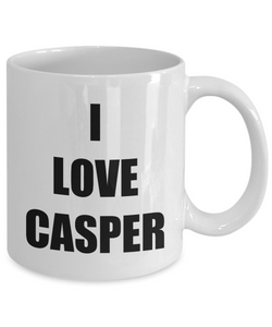 I Love Casper Mug Funny Gift Idea Novelty Gag Coffee Tea Cup-Coffee Mug