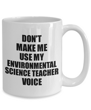 Load image into Gallery viewer, Environmental Science Teacher Mug Coworker Gift Idea Funny Gag For Job Coffee Tea Cup Voice-Coffee Mug