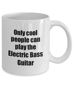 Electric Bass Guitar Player Mug Musician Funny Gift Idea Gag Coffee Tea Cup-Coffee Mug