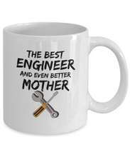 Load image into Gallery viewer, Engineer Mom Mug Best Mother Funny Gift for Mama Novelty Gag Coffee Tea Cup-Coffee Mug