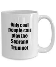 Load image into Gallery viewer, Soprano Trumpet Player Mug Musician Funny Gift Idea Gag Coffee Tea Cup-Coffee Mug