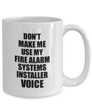Load image into Gallery viewer, Fire Alarm Systems Installer Mug Coworker Gift Idea Funny Gag For Job Coffee Tea Cup Voice-Coffee Mug