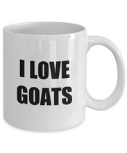 Load image into Gallery viewer, I Love Goats Mug Funny Gift Idea Novelty Gag Coffee Tea Cup-Coffee Mug