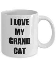 Load image into Gallery viewer, I Love My Grandcat Mug Funny Gift Idea Novelty Gag Coffee Tea Cup-Coffee Mug