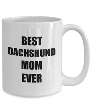 Load image into Gallery viewer, Daschund Mom Mug Dachshund Dog Lover Funny Gift Idea for Novelty Gag Coffee Tea Cup-Coffee Mug